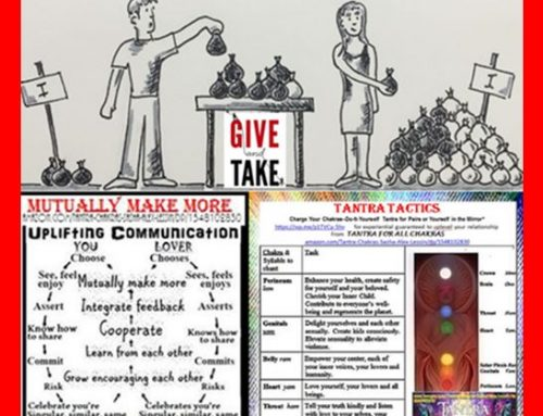 GIVE & GET: BALANCE HEART-CHAKRA EXCHANGE WITH LOVERS & LOVE BETTER