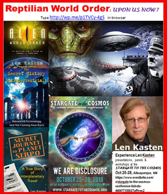 Reptilian Alien World Order Upon Us Now Lessins Interviews